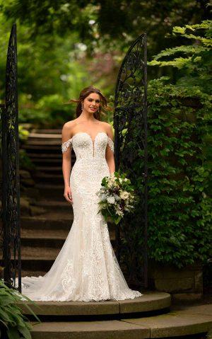 essense wedding dress d2988