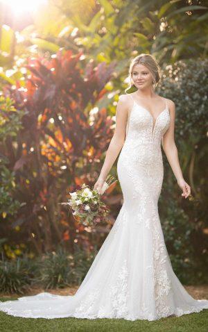 essense wedding dress d3066