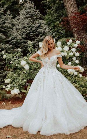 essense wedding dress d3245
