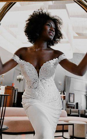 essense wedding dress d3247
