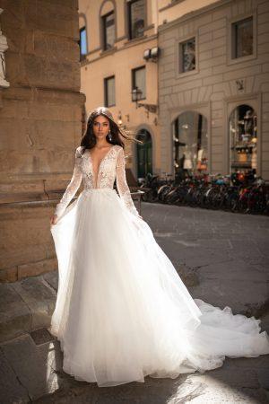 milla nova wedding dress axelle